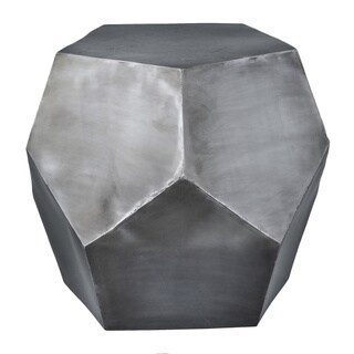 Diamond Decor Stool Zinc Antique
