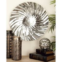 Stainless Steel Wall Platter 4 Assorted 21-inch Deep Accent Piece