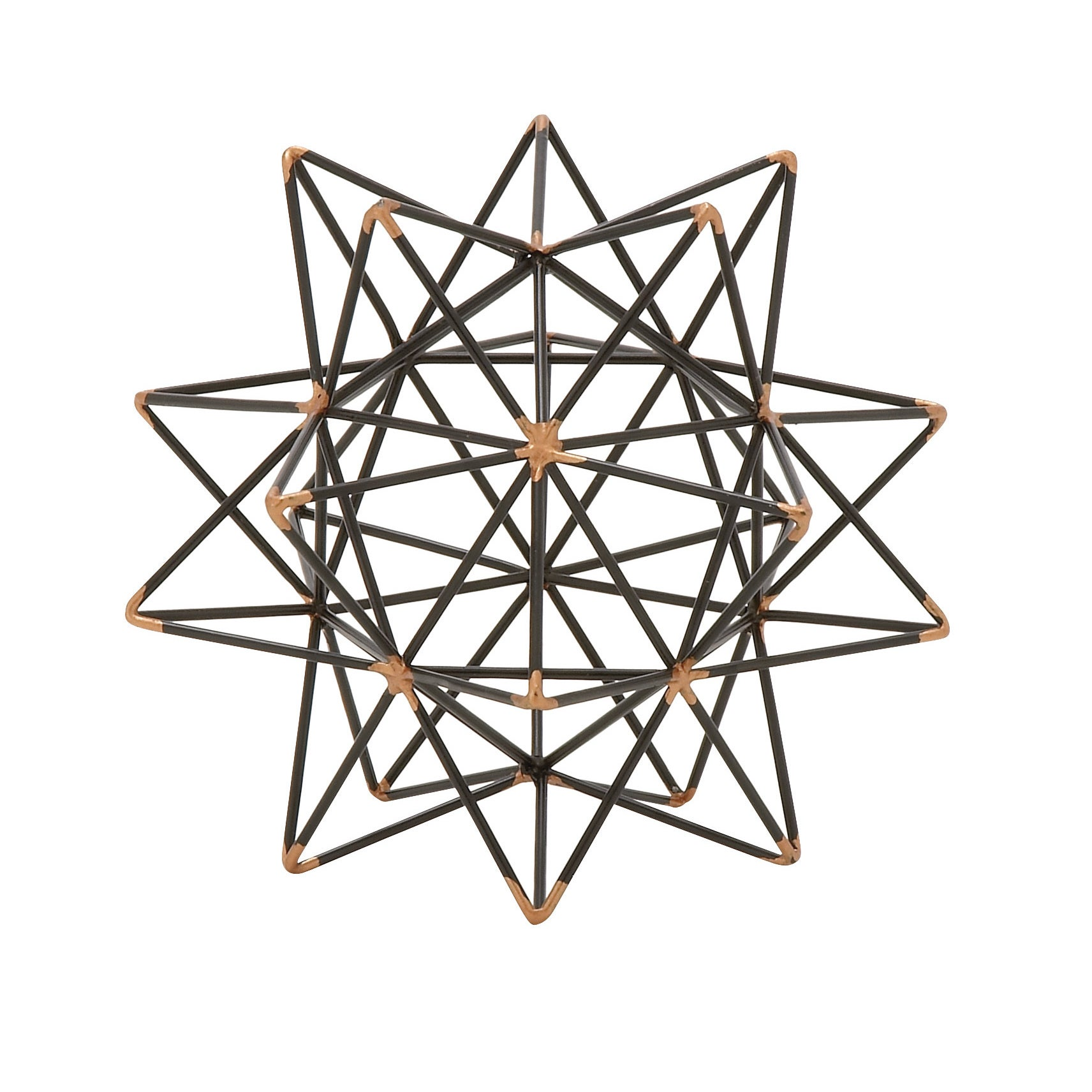 Shop Metal Wire Star Decor 7-inch x 7-inch Accent Piece - Free ...