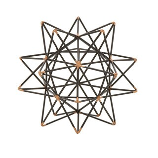 Metal Wire Star Decor 7-inch x 7-inch Accent Piece