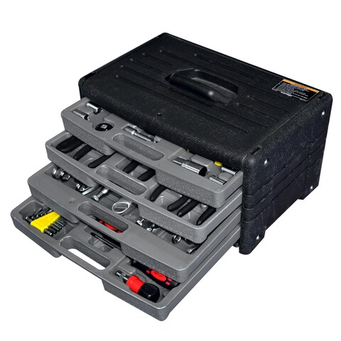 Worker 4-drawer Tool Chest with 105-piece Tool Kit