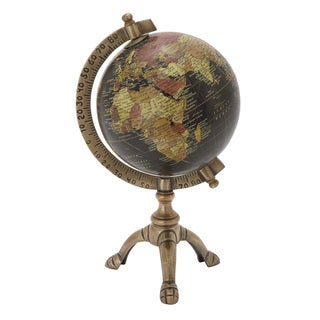 Link to Copper Grove Lupinus Brass Globe with Metal Stand Similar Items in Accent Pieces