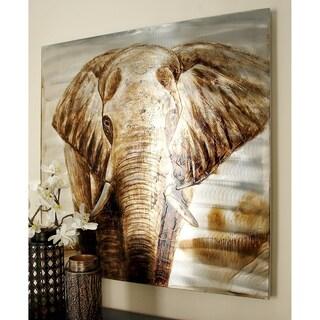 Aluminum Canvas Art 40-inch x 40-inch Accent Piece