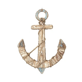 Wd Rope Anchor Wall Decor 20-inch x 27-inch Accent Piece