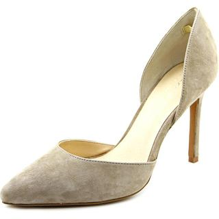Lara + Lillian Women's 'Elise' Regular Suede Dress Shoes