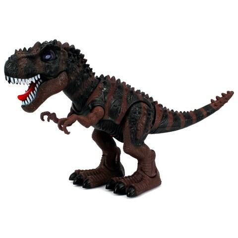 Dinosaur Century Tyrannosaurus Rex T-Rex Battery Operated Toy Dinosaur Figure (Colors May Vary)