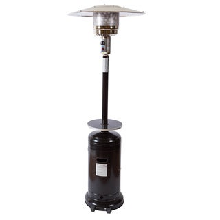 Somette Black Outdoor Overhead 7.25 ft. Patio Heater