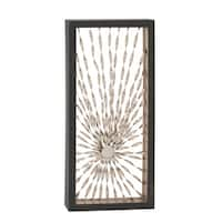 Metal Wall Decor 24-inch x 52-inch Accent Piece