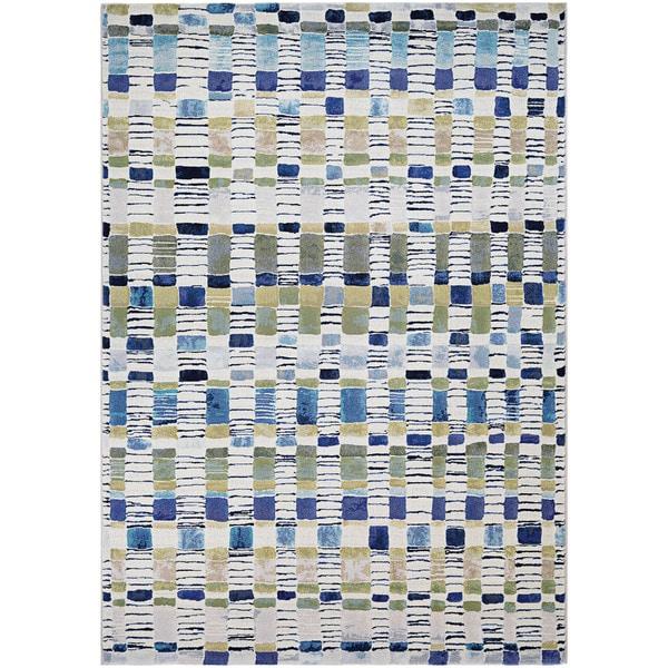 Couristan Easton Surrey Bone- Multicolored Area Rug - 7'10 x 11'2