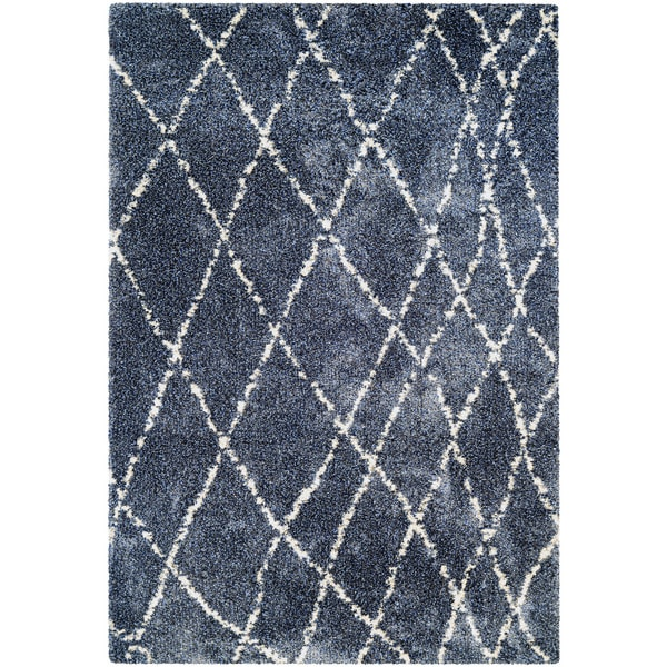 "Chione Erie Blue Area Rug - 7'10"" x 11'2"""