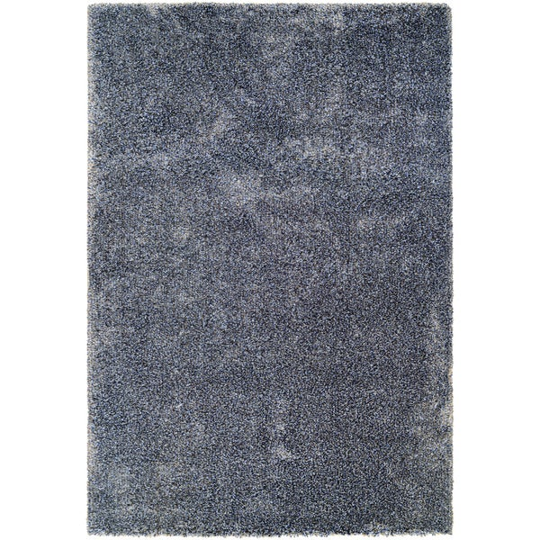 Chione Greeley Blue-Gray Area Rug - 7'10 x 11'2