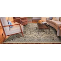 Couristan Tenali Korba Cream Wool Area Rug - 8' x 11'3""