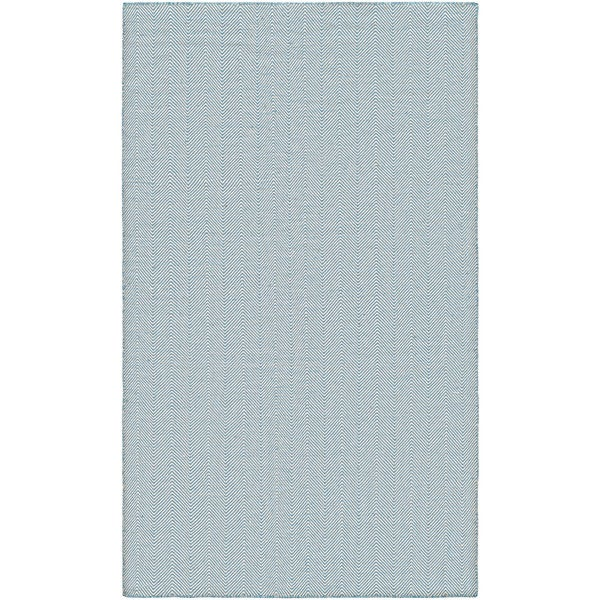 Villa Chevron Denim Indoor/Outdoor Area Rug - 8' x 10'