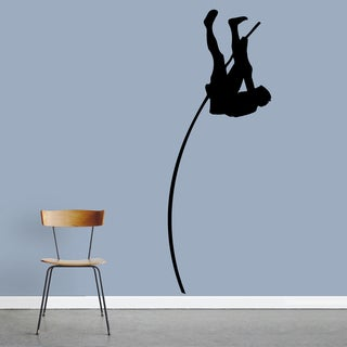 Pole Vaulter Large Wall Decal