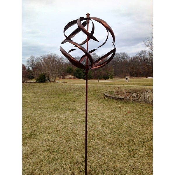 Shop Copper Sphere Wind Spinner Free Shipping Today