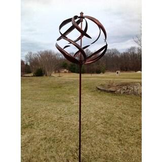 Copper Sphere Wind Spinner