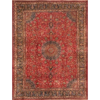ecarpetgallery Persian Kashmar Red Wool Rug (9'8 x 13')