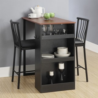 Avenue Greene 3-Pc Counter Height Bar Set & Bar \u0026 Pub Table Sets For Less | Overstock