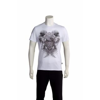 Just Cavalli Men's Hawk Crest T-shirt