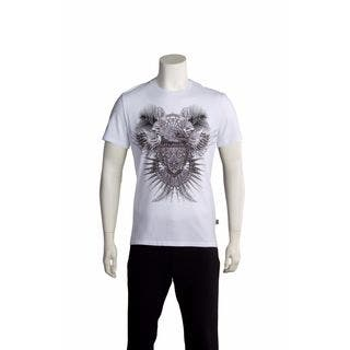 Just Cavalli Men's Hawk Crest T-shirt|https://ak1.ostkcdn.com/images/products/11383998/P18352086.jpg?impolicy=medium