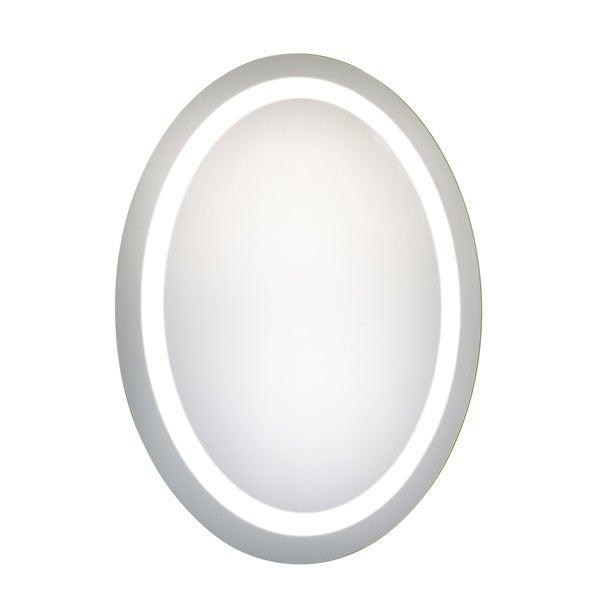 Elegant Lighting Oval LED Electric Mirror (23x30)