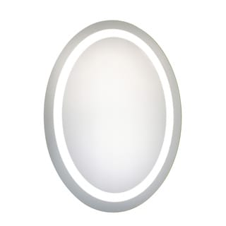 Elegant Lighting Oval LED Electric Mirror (23x30)