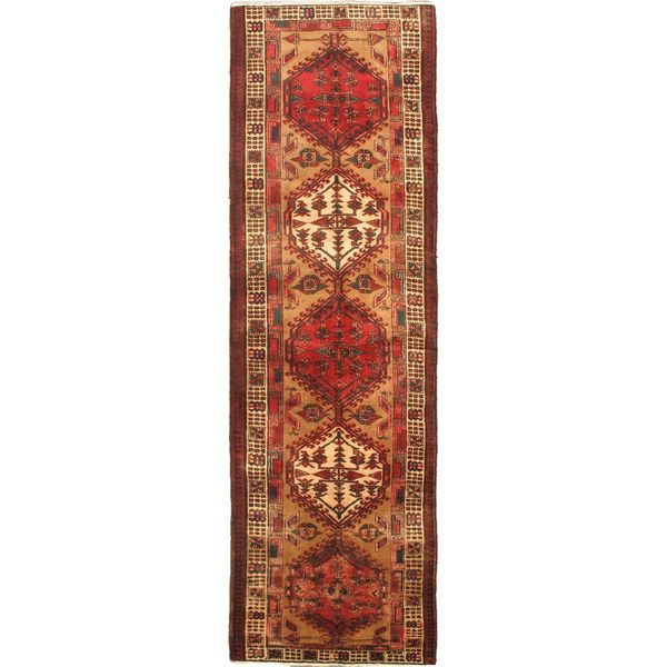 Persian Rugs Wellington: Shop Ecarpetgallery Persian Ardabil Beige/ Red Wool Runner
