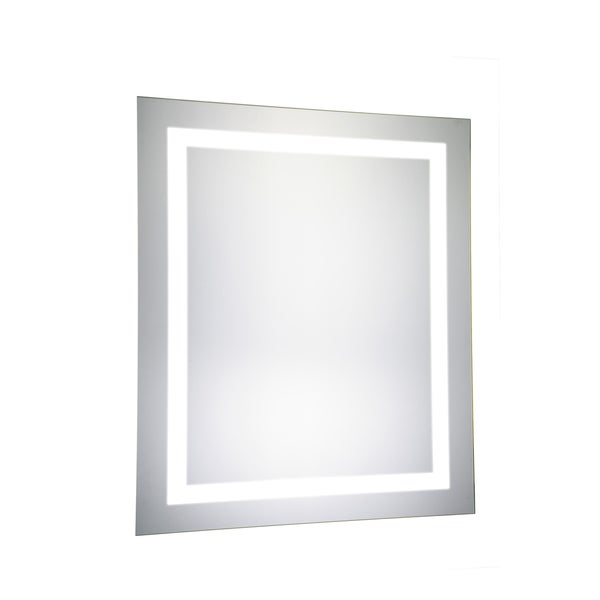 Elegant lighting rectangle led electric mirror 20x30 for Mirror 20 x 30