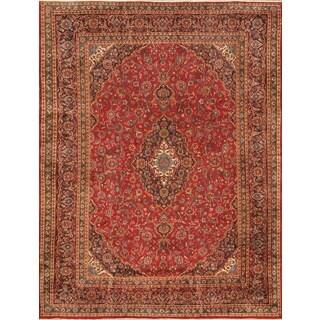 ecarpetgallery Persian Kashmar Red Wool Rug (9'7 x 12'8)