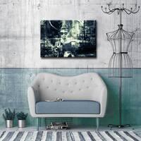 Iconic Audrey Hepburn' ArtPlexi by Ready2HangArt - Grey