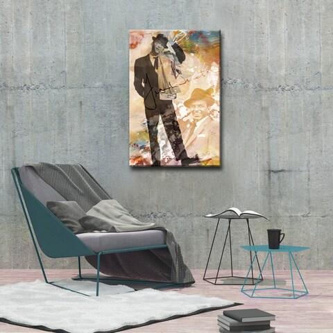 Iconic Frank Sinatra' Acrylic ArtPlexi by Ready2HangArt - Multi-color