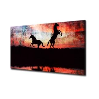 Equestrian Saddle Ink XXIV' ArtPlexi by Ready2HangArt