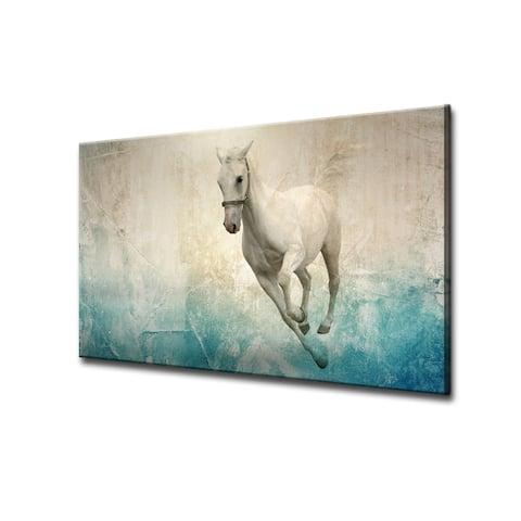 Equestrian Saddle Ink VIII - Blue