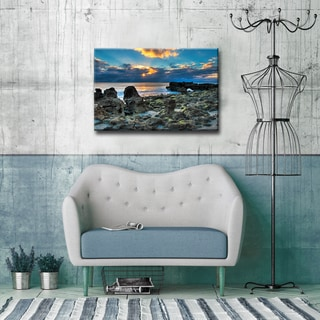 Bruce Bain 'Sunrise' ArtPlexi by Ready2HangArt
