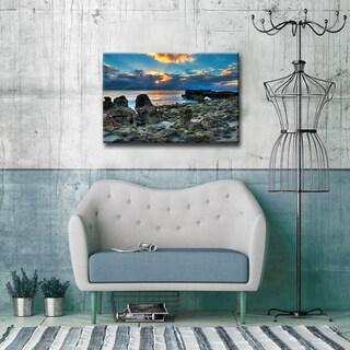 Bruce Bain 'Sunrise' ArtPlexi by Ready2HangArt