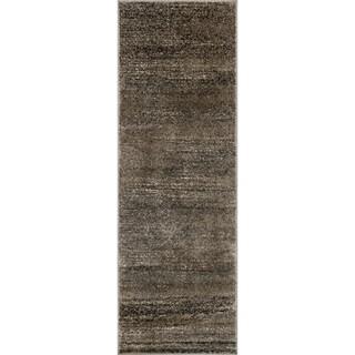 Kingsley Taupe/ Slate Rug (2'6 x 7'7)