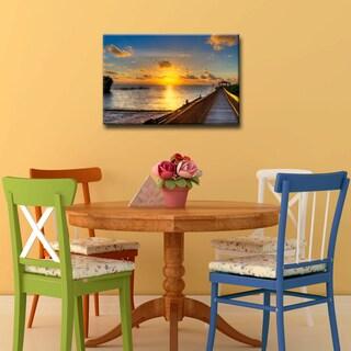 Bruce Bain 'Keys Sunrise' ArtPlexi by Ready2HangArt