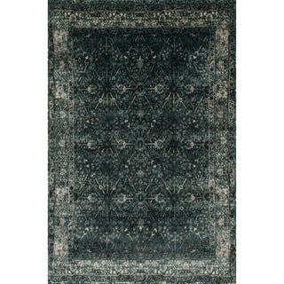 Kingsley Peacock/ Slate Rug (7'7 x 10'5)
