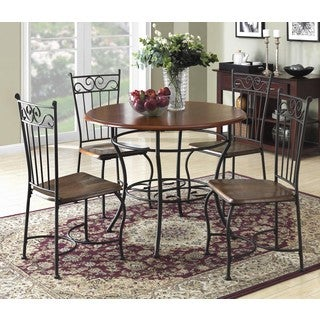 Dorel Living 5-piece Antique Scroll Dinette Set