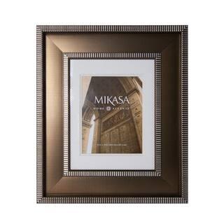 this mikasa 8 x 10 striped border frame - Mikasa Picture Frames