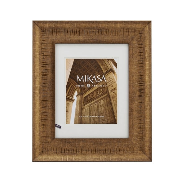 09abd27516b Shop Mikasa 8 x 10 Antique Gold Frame - Free Shipping On Orders Over ...