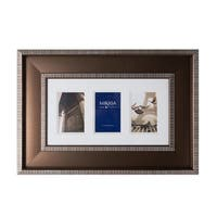 Mikasa 4 x 6 Striped Collage Frame, 3 Opening