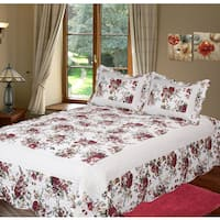 Bella Rosa 3-piece Quilt Set