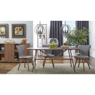 Euro Style Travis and Sandra Side Chair 5-piece Dining Set
