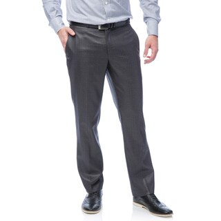 Kenneth Cole Men's Reaction Gunmetal Basketweave Suit Separates Pant