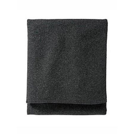 Pendleton 52307 Charcoal Washable Wool Blanket
