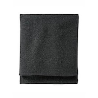 Pendleton 52307 Charcoal Washable Wool Blanket