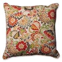 Pillow Perfect Outdoor/ Indoor Zoe Citrus 25-inch Floor Pillow