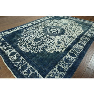 W873 Hand-knotted Overdyed Rug (8' x 12')