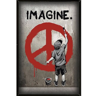 Imagine Peace Wall Plaque (24 x 36)